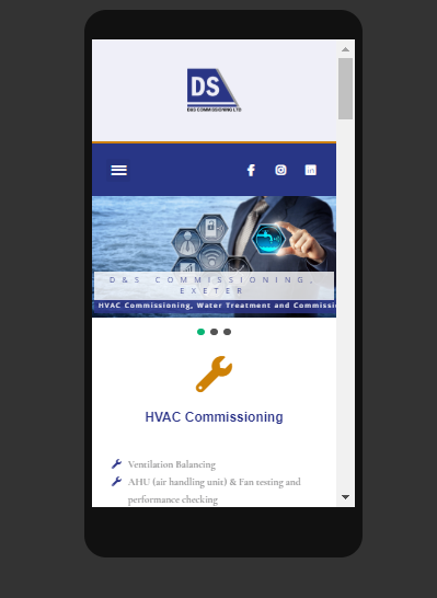 Welcome to the new D&S Commissioning Website